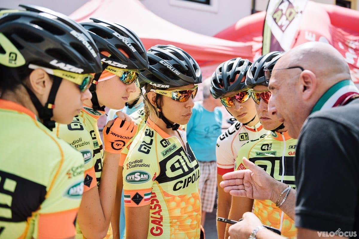 Alé Cipollini team talk