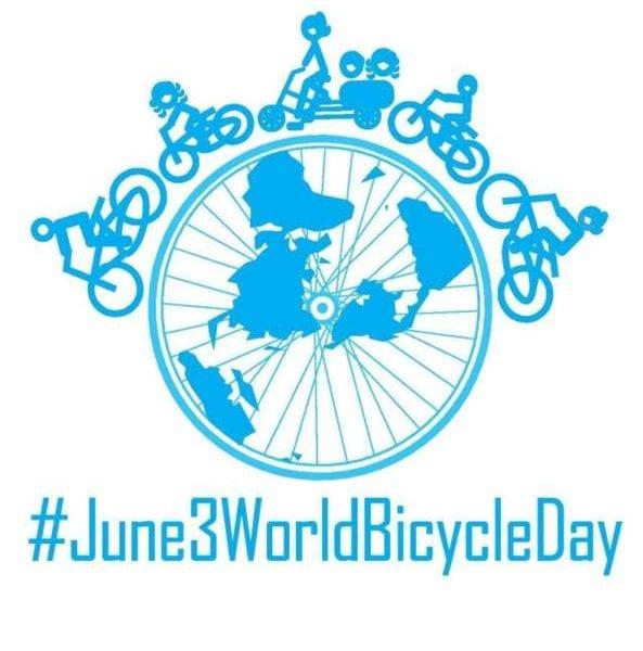 3 Ιουνίου 2018 Παγκόσμια Ημέρα Ποδηλάτου